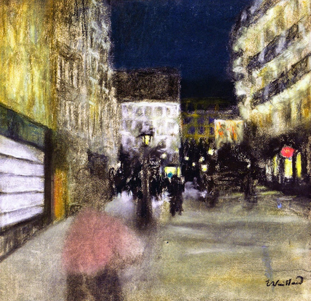Édouard Vuillard - Evening Effect