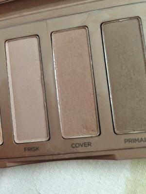 Cover naked basics palette