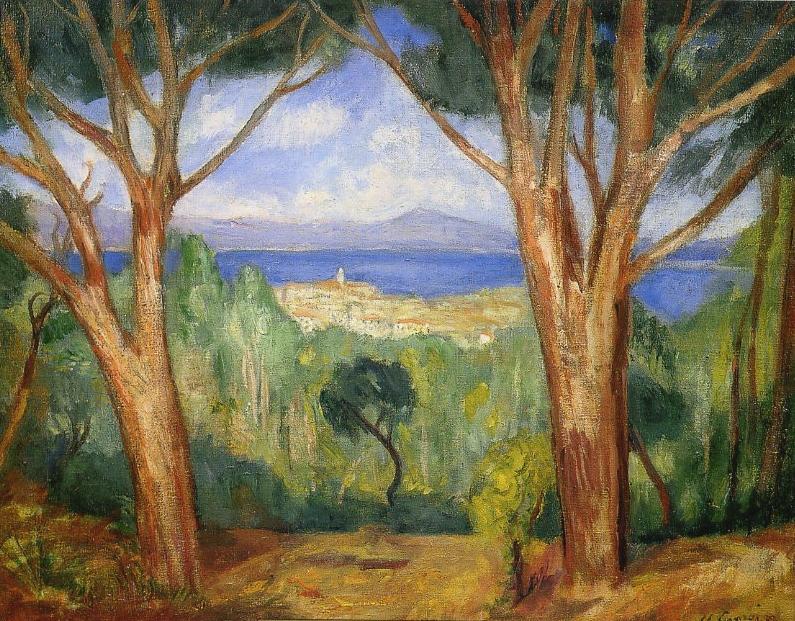 Charles Camoin - Vue de Saint-Tropez