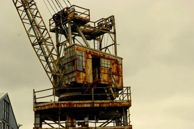 Old crane, Cockatoo Island, Sydney Harbour