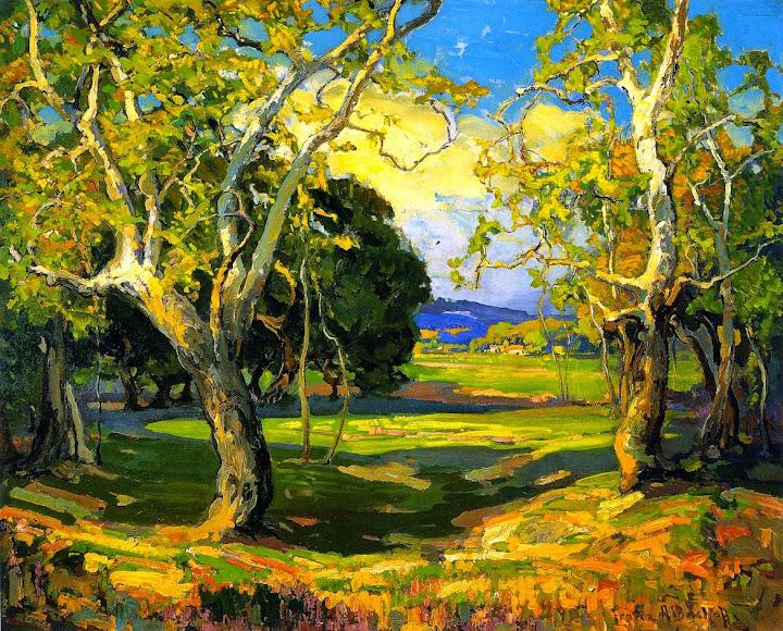Franz Bischoff - Early Spring