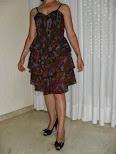 Precioso vestido estampado en colores
