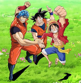 Onepiece, Dragon Ball Và Toriko - Onepiece, Dragon Ball And Toriko - 2013