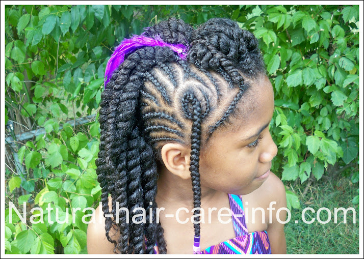 Sensational Braided Mohawk Natural Hair Tutorial Braids Hairstyle Inspiration Daily Dogsangcom