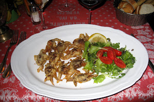 Soft Shell Crabs at Ivo Restaurant
