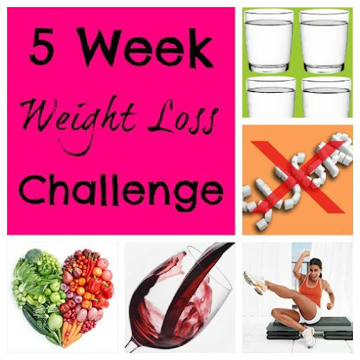 Weight Loss Motivation: The 5 Week Weight Loss Challenge - My ...