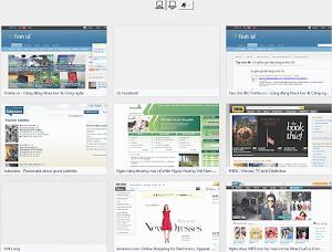 Add-on New Tab Pro giúp tăng giảm số trang web thường truy cập