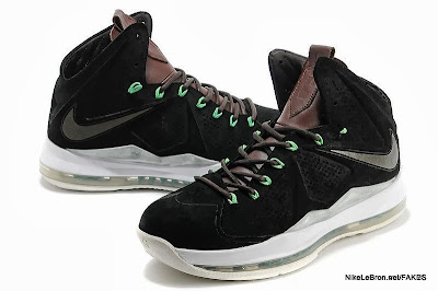 lbj10ext fake colorway black suede 1 03 Fake LeBron X