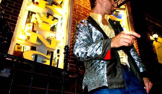 Silver Fox Smoking Jacket