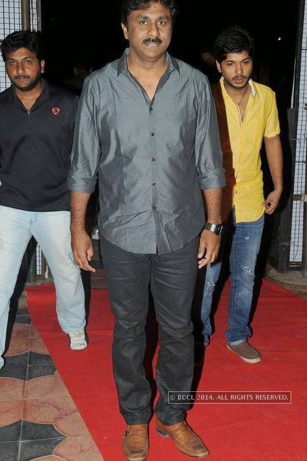 Raghu Kunche during the audio launch of a film in Hyderabad.