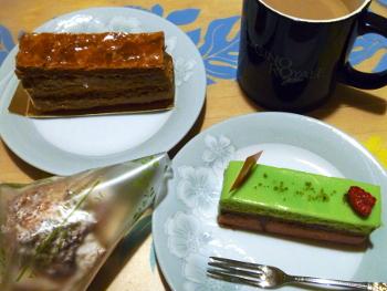 ナチュレナチュールのケーキ