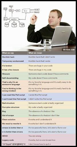 Ce spun de fapt programatorii #1