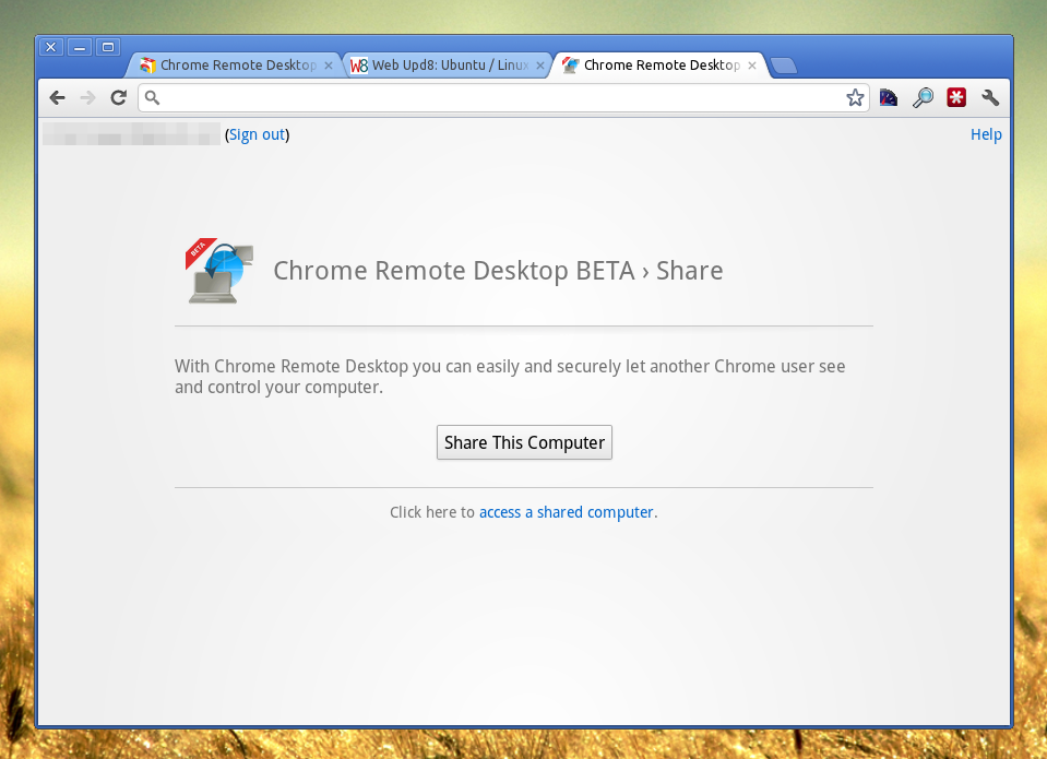 Google Releases Cross-Platform Remote Desktop Extension For