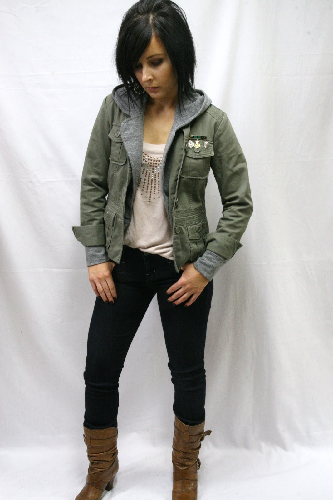 Thrift and Shout Cute Outfit of the Day Neutral Layers
