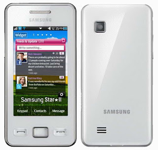 Samsung Star II S5260 low priced Smartphone images