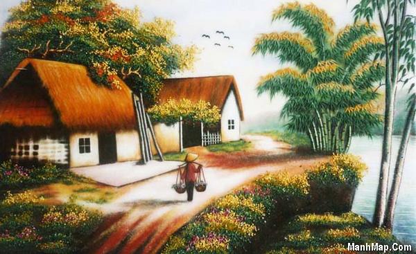 thơ nhớ quê nhà nơi có mẹ