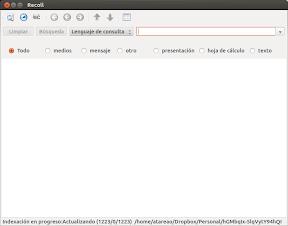 Recoll-Lens o como realizar búsquedas de texto en Ubuntu