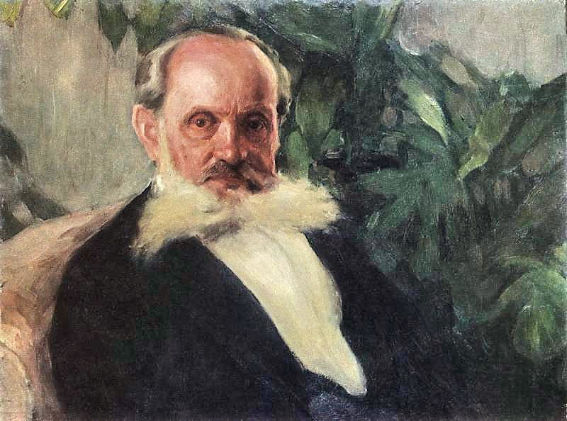 Igor Grabar - Portrait of Emmanuil Hrabar (painter's father).