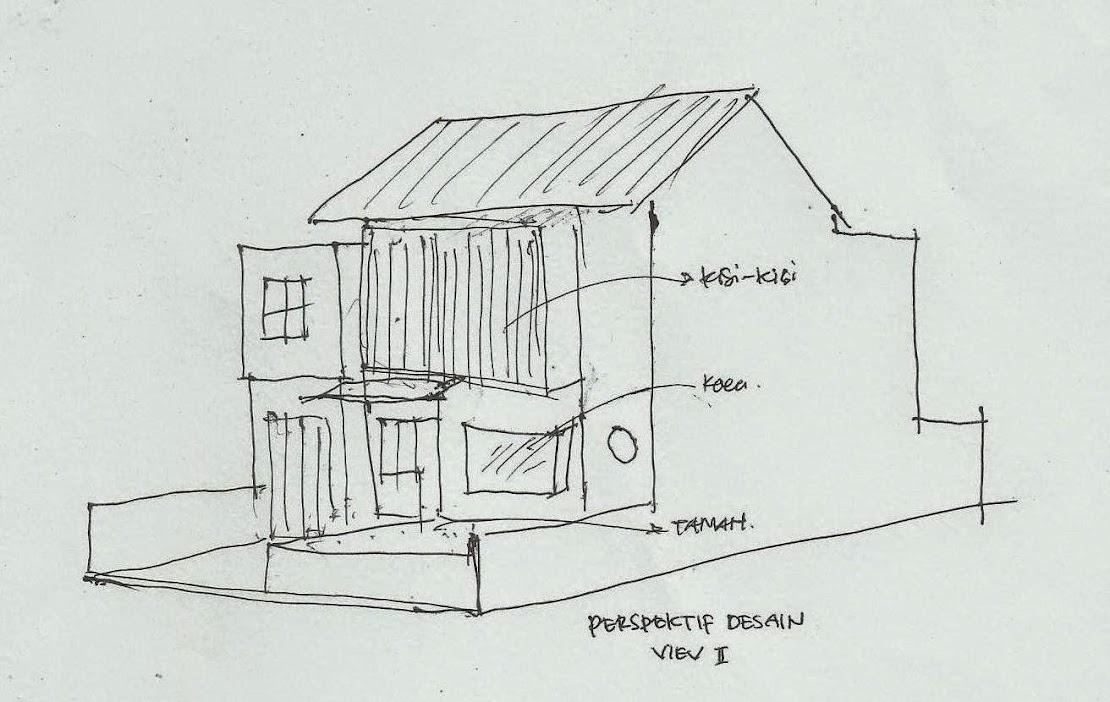 Sketsa Desain Eksterior Rumah \u0026 Sketsa Desain Rumah Minimalis 1 Lantai 2\