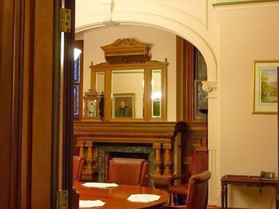 Restored Boardroom at Ross Roy