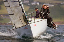 J/24 one design sailboat- sailing UK Nationals
