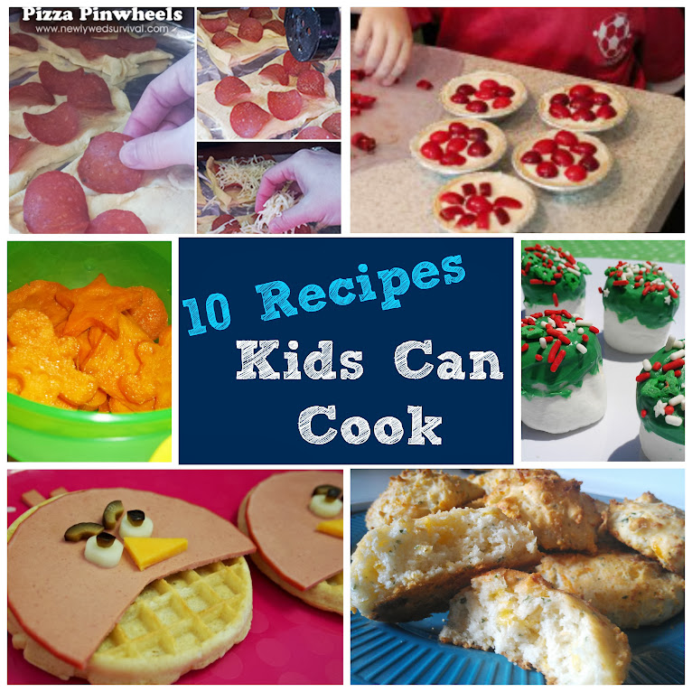 Cooking with Kids: 10 Recipes Kids Can Cook