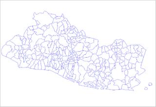 262 Municipios de El Salvador por departamentos