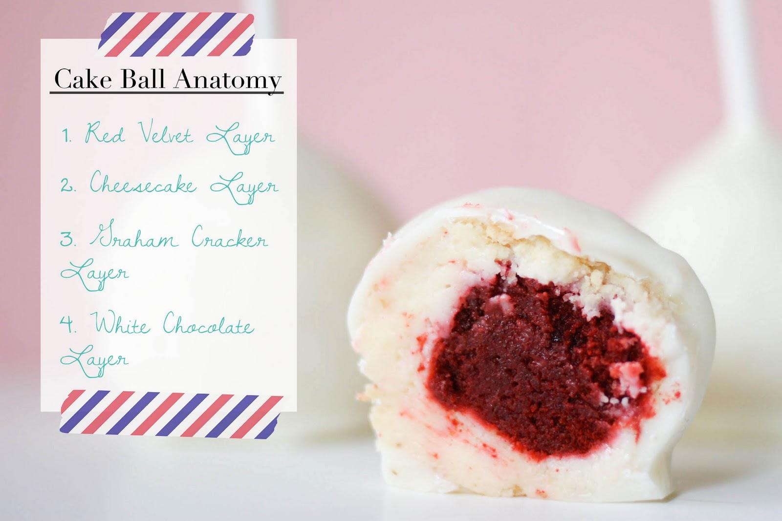 Une-deux senses: Red Velvet Cheesecake Cake Balls