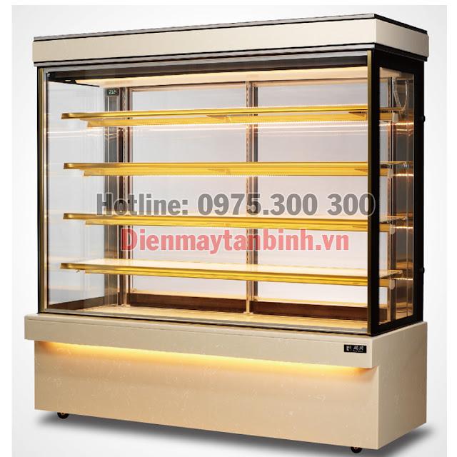 Tủ bánh kem 5 tầng Đài Loan RueyShing 1m8 RS-C1006S