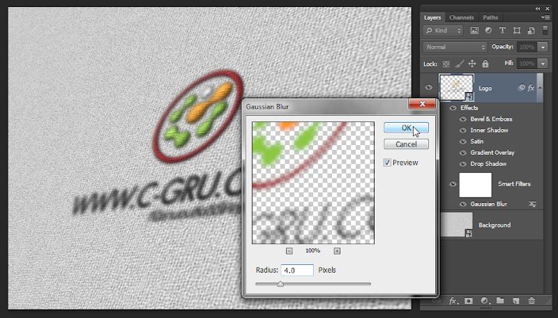 เทคนิคการทำภาพ Logo แนวลายปักเสมือนจริง Emb_logo14