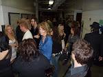 backstage schmoozing madness