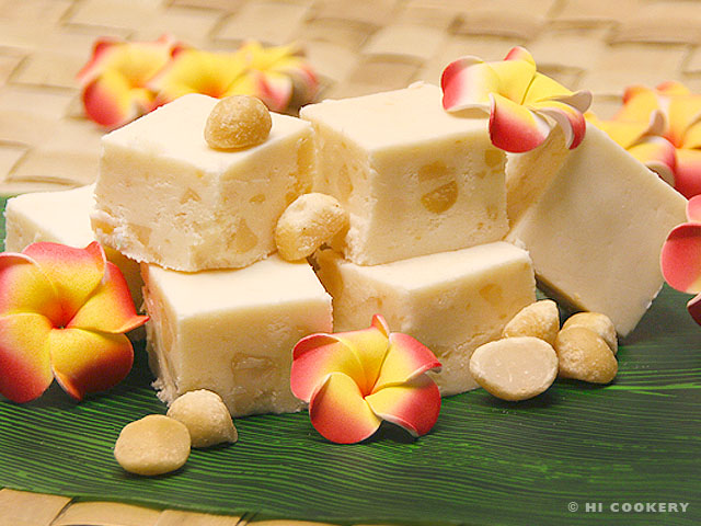 Vanilla-Macadamia Nut Fudge