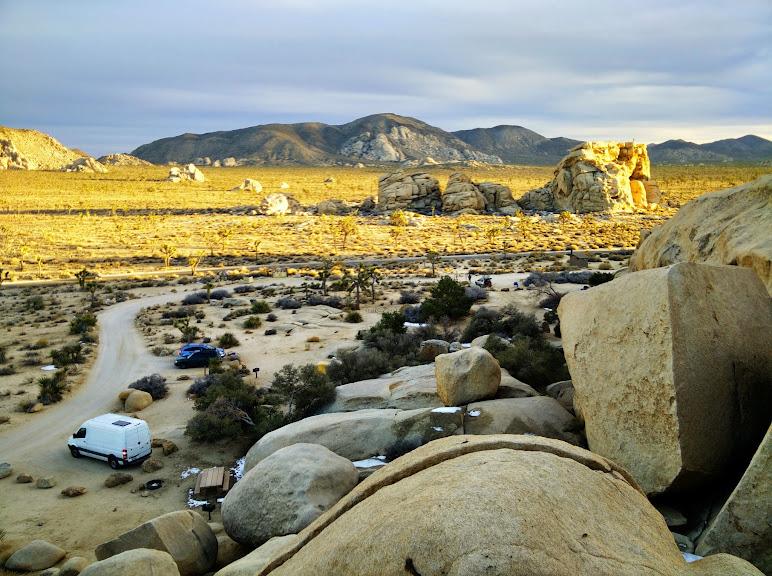Rock piles of Joshua Tree