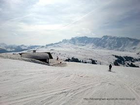 na zdjęciu Alpe di Siusi