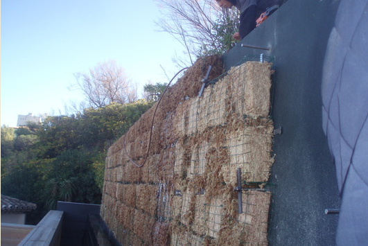 Arrels jardines verticales estructuras para jardineria for Riego de jardines verticales