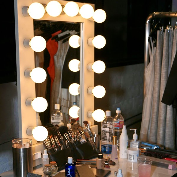 Vanity Mirror With Lights Dressing Room : Secret Makeup Diary: Lighted Makeup Mirror & How To Make It Yourself