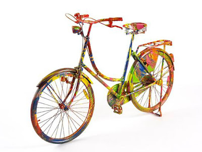 Bikes as Psychedelic Art