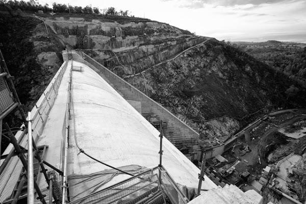 cotter dam wall