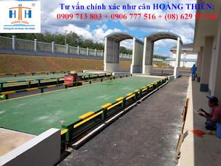 Cung cấp dịch vụ kiểm định cân ô tô 100 tấn xe tải cao