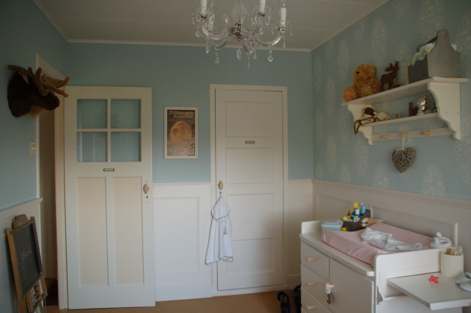 Lambrisering Schilderen Kinderkamer : Lambrisering verven kinderkamer een lambrisering schilderen in de