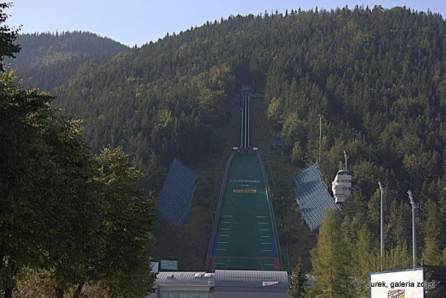 Skocznia narciarska.