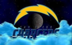 San Diego Chargers Above The Clouds Wallpaper