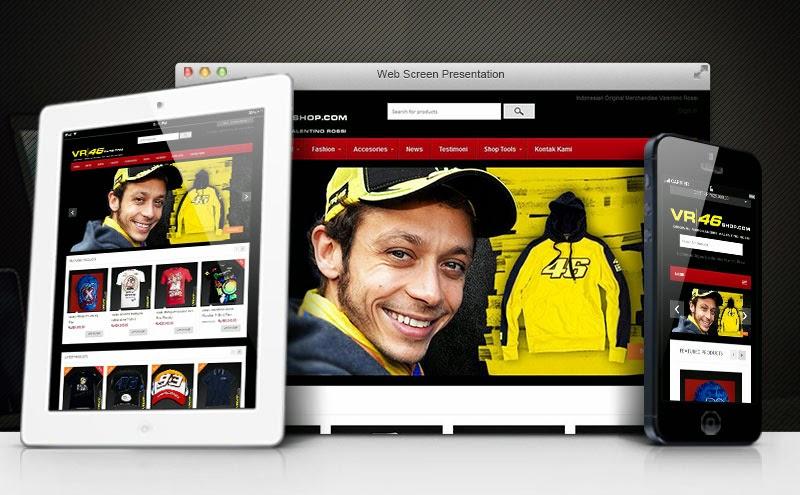 Toko Online Responsive Design