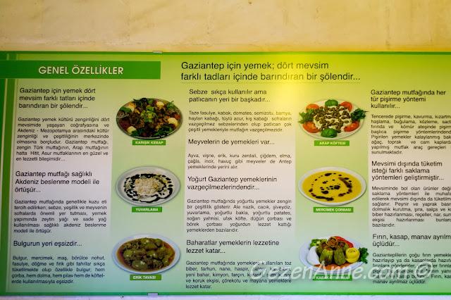 Gaziantep yemekleri tanıtımı, Emine Göğüş Gaziantep Mutfağı Müzesi