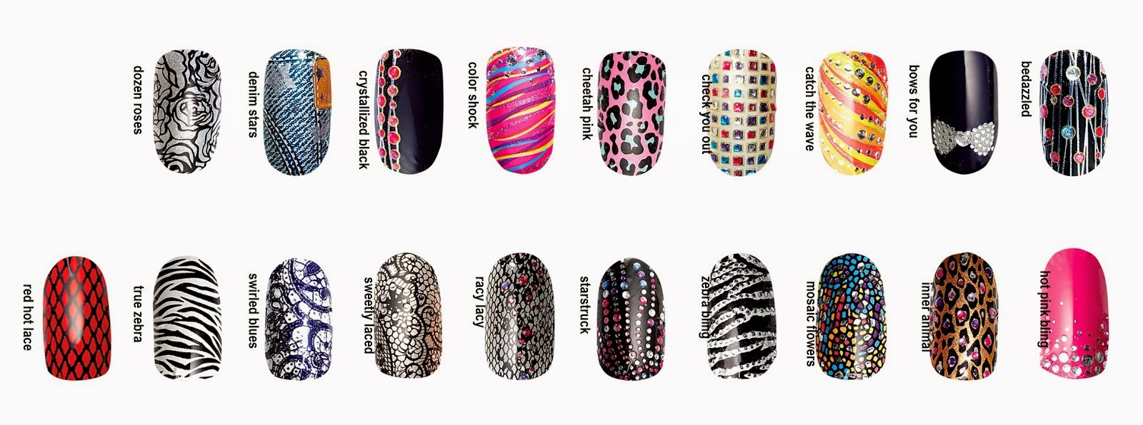 Nail Design: Nail Art Design Strips