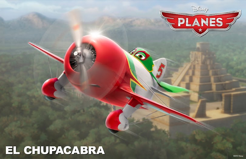El Chupacabra from My Disney's Planes Review #DisneyPlanesBloggers