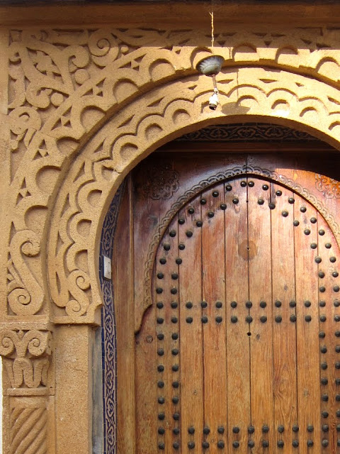 Typical Moroccan doorway