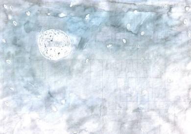 Luna y estrellas - Eugenia Moreno