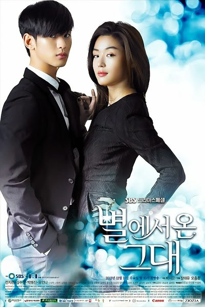 Poster Phim Vì Sao Đưa Anh Tới - You Who Came From The Stars