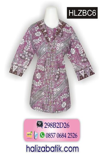 baju batik murah, baju batik wanita, gambar baju batik modern